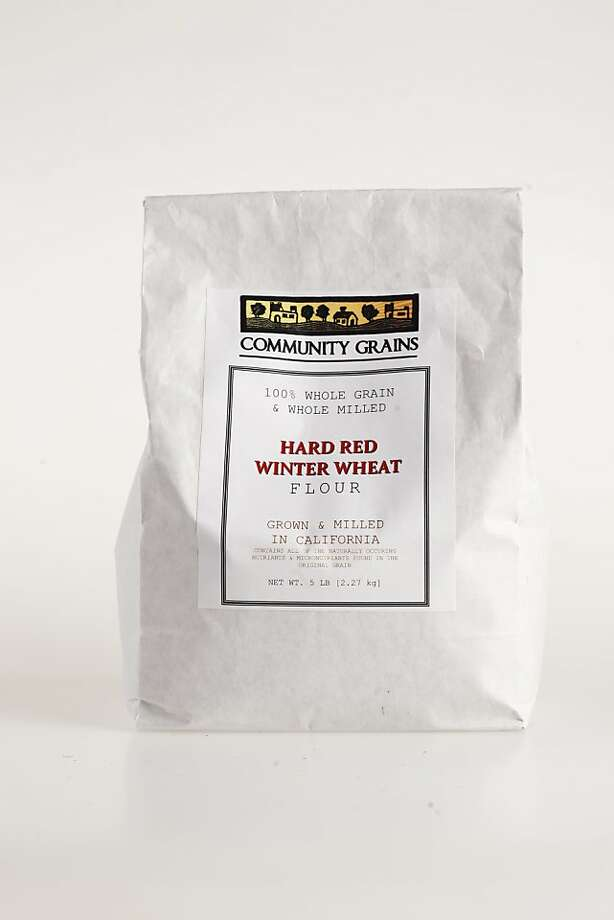 Community Grains Hard Red Wheat Flour as seen in San Francisco, California, on Wednesday April 20, 2011. Photo: Craig Lee, Special To The Chronicle