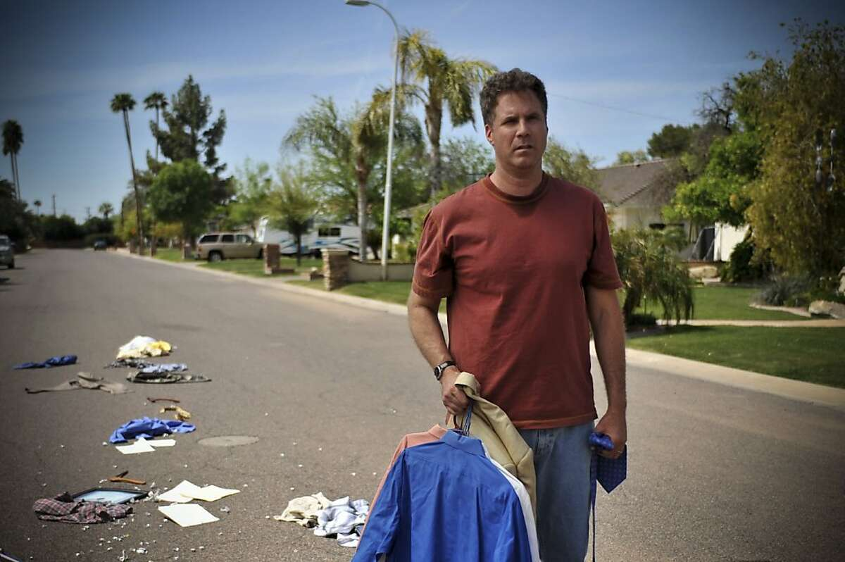 Will Ferrell as Nick Halsey in EVERYTHING MUST GO, directed by Dan Rush.