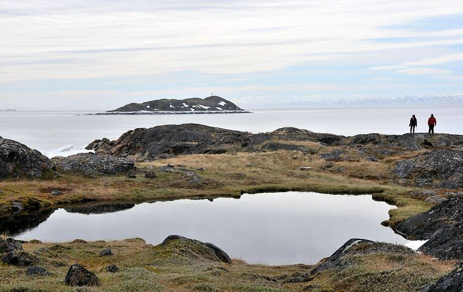 View from Sylvia Grinnell Territorial Park across Frobisher Bay. Photo: Margo Pfeiff, Special To The Chronicle