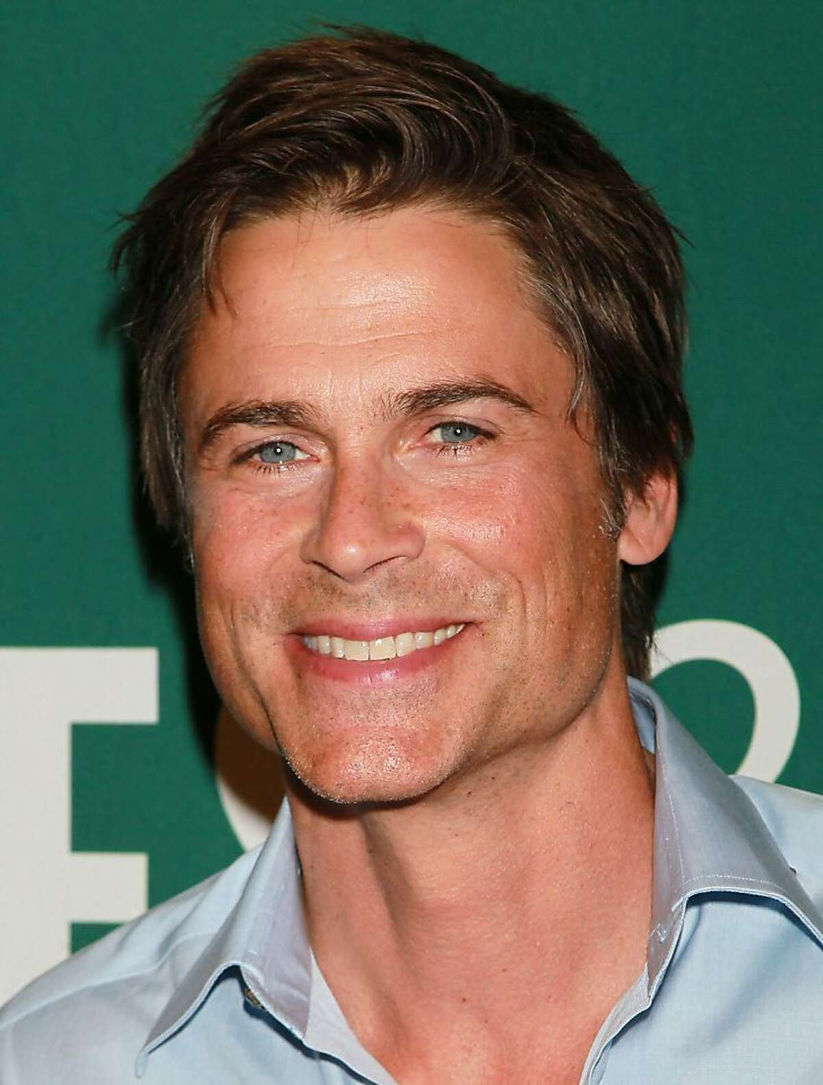 LOS ANGELES, CA - APRIL 29: Actor Rob Lowe attends a signing for his book
