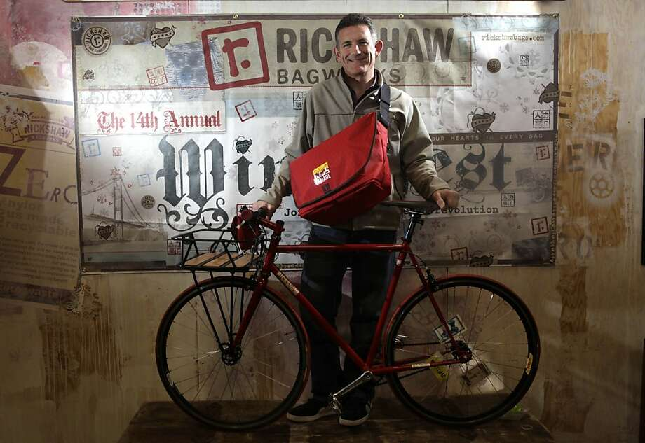 Mark Dwight, founder and CEO of Rickshaw Bagworks and founder of SFMADE is seen at Rickshaw Bagworks on  Wednesday February 17, 2010 in San Francisco, Calif. Photo: Lea Suzuki, The Chronicle