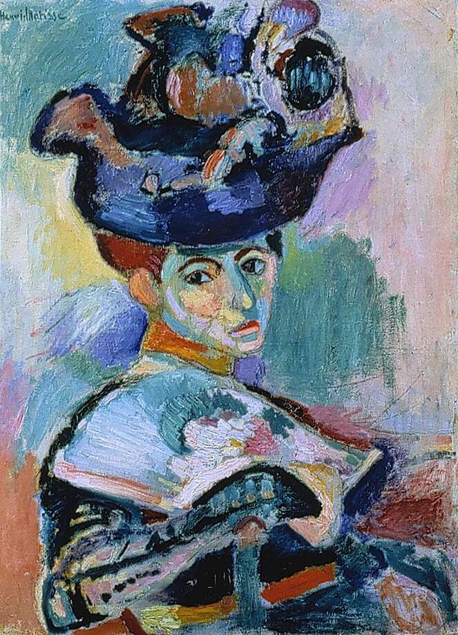 The Steins Collect: Matisse, Picasso, and the Parisian Avant-Garde SFMOMA ? May 21 through September 6, 2011 03.Henri Matisse, Woman with a Hat, 1905; oil on canvas; 31 3/4 x 23 1/2 in. (80.7 x 59.7 cm); SFMOMA, Bequest of Elise S. Haas; ? Succession H. Matisse, Paris / Artists Rights Society (ARS), New York; photo: Ben Blackwell Photo: Sfmoma