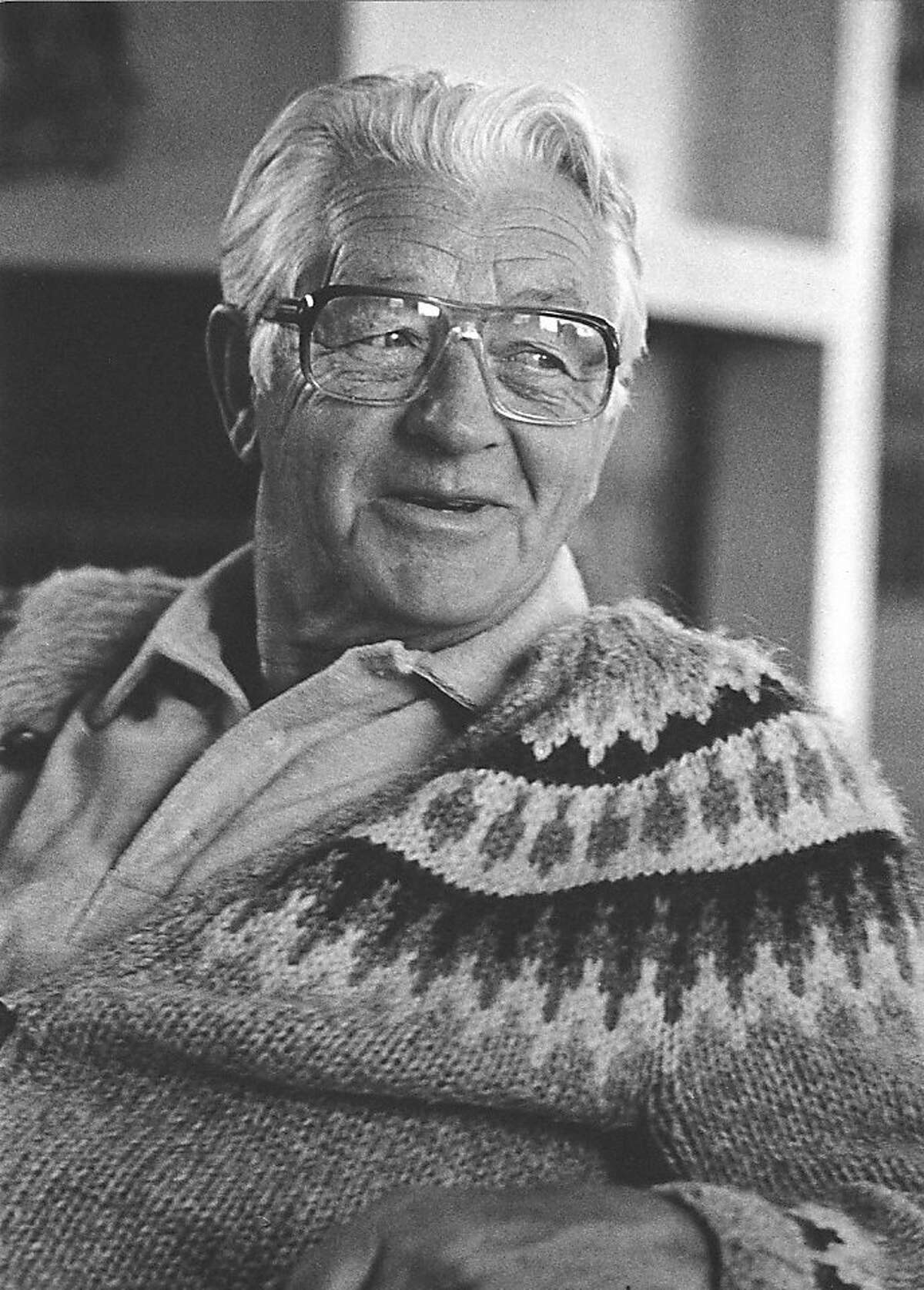 Wallace Stegner was a native of Canada who set most of his fiction in the West. He was a dedicated environmentalist. Photo Courtesy of the Los Altos History Museum