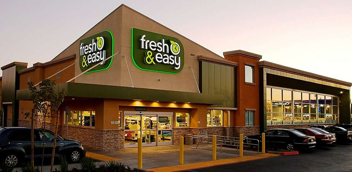 handout photo of a Fresh & Easy grocery store.