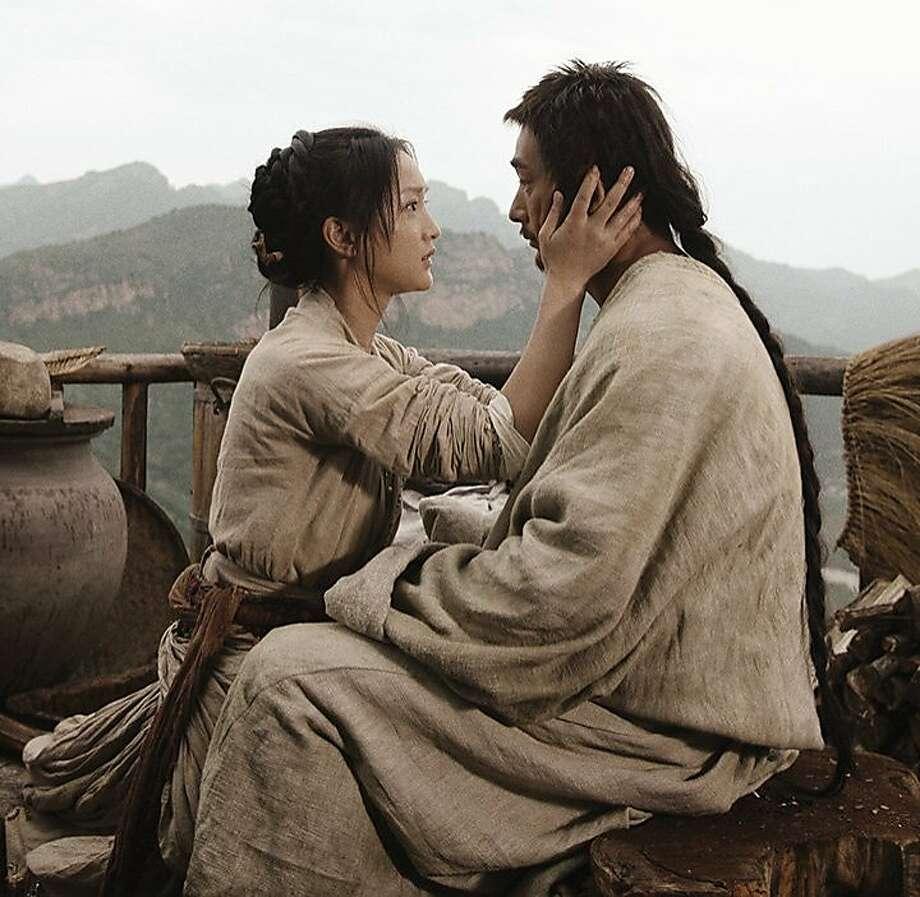 Still of Man Cheuk Chiu and Xun Zhou in True Legend Photo: Indomnia Releasing