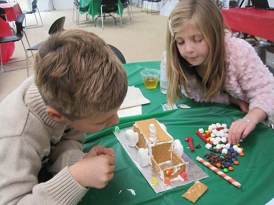 Children can construct edible greenhouses this weekend at the Conservatory of Flowers. Photo: Morgan Davis