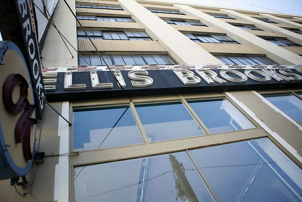Ellis Brooks, which used to occupy a space at Bush and Van Ness street, recently moved its location.