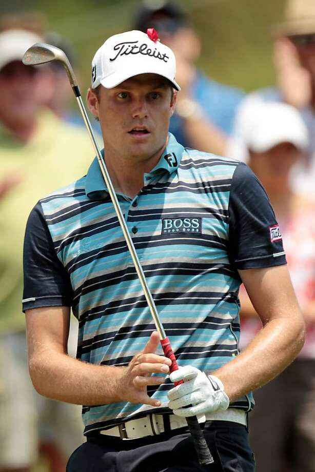 PONTE VEDRA BEACH, FL - MAY 12:  Nick Watney reacts on the ninth hole during the first round of THE PLAYERS Championship held at THE PLAYERS Stadium course at TPC Sawgrass on May 12, 2011 in Ponte Vedra Beach, Florida. Photo: Scott Halleran, Getty Images
