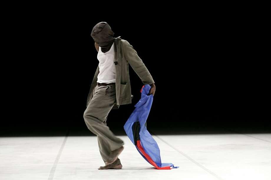 Kenyan choreographer Opiyo Okach presents his work in progress at YBCA. Photo: Ivan Boccara
