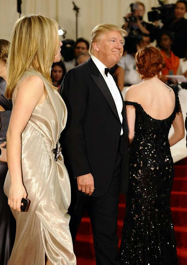 Donald Trump attends the 'Alexander McQueen: Savage Beauty' Costume Institute Gala at The Metropolitan Museum of Art on May 2, 2011. Photo: Timothy A. Clary, AFP/Getty Images