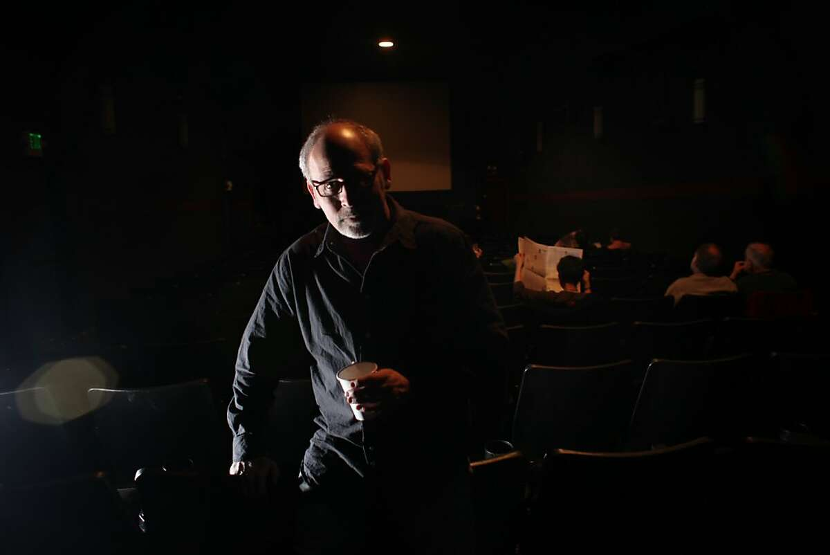 Elliot Lavine, Director of Repertory Programming, Roxie Theater, is seen at the Roxie Theater in San Francisco, Calif., Monday, May 2, 2011.