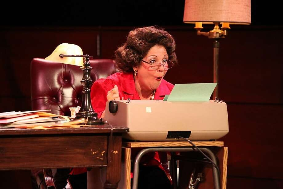 """Kerri Shawn as Ann Landers in """"The Lady With All the Answers"""" at Center Rep Photo: Ann Luke"""