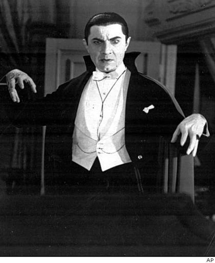 Bela Lugosi as Dracula (1931 Photo: AP