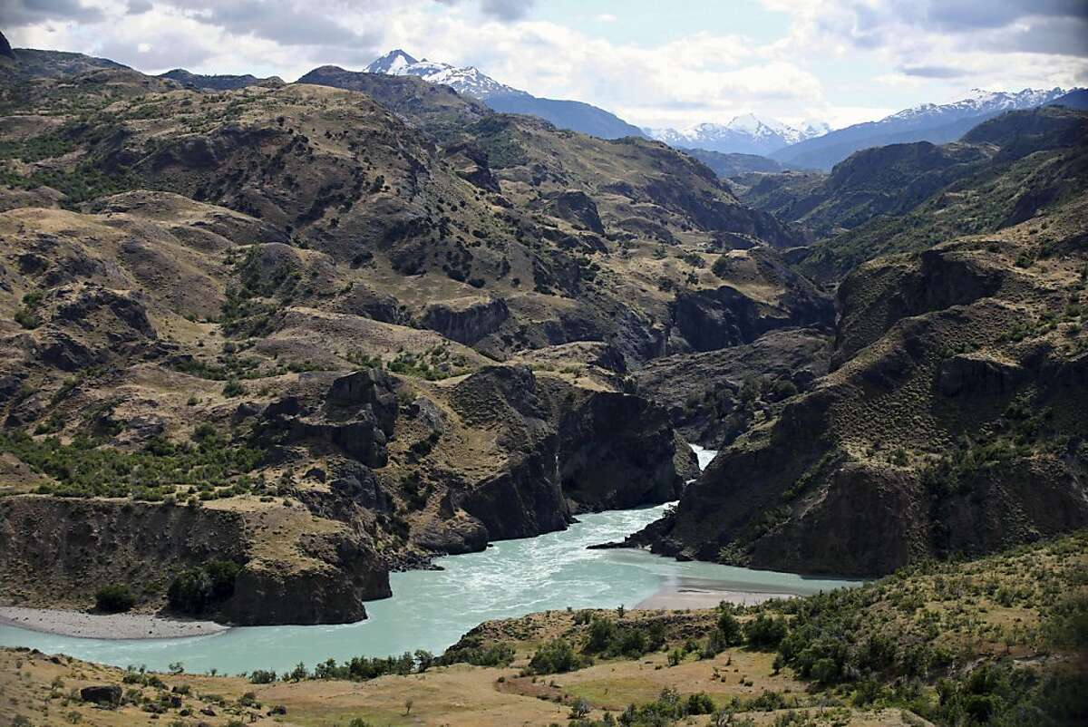 This photo taken Jan. 20, 2008 show a view of the confluence of the Baker and Chacabuco rivers on the outskirst of Cochrane, Aysen region, in Chile's northern Patagonia. The multinational consortium, HidroAysen has proposed to build five hydroelectric megadams in this remote Patagonian region. If the proposal is accepted, one of the dams will flood most of Los Nadis, requiring the relocation of its residents. In the next few days, the region's Commision for Environmental Evaluation will meet to determine whether or not HidroAysen has met the environmental standards required by Chilean law for the project to proceed.