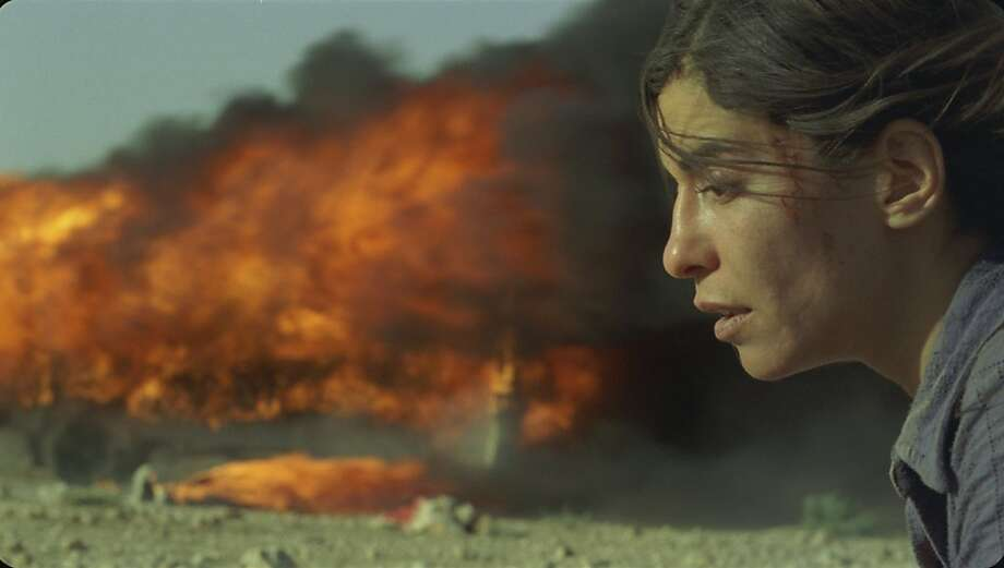 """Lubna Azabal as Nawal Marwan in, """"Incendies."""" Photo: Micro-scope, Sony Pictures Classics"""