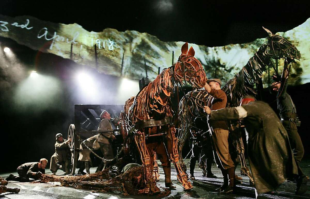 """The company in """"War Horse"""""""