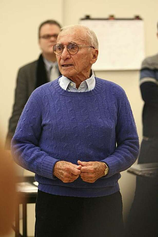 "Arthur Laurents, author of ""West Side Story"" in 2010. Photo: Joan Marcus"
