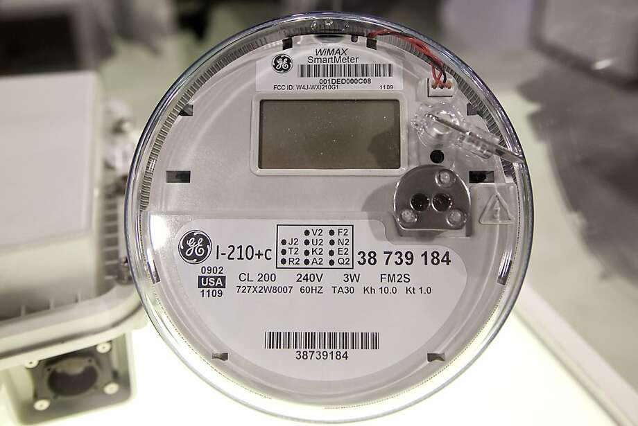 A General Electric Co. (GE) WiMax SmartMeter sits on display at the Clearwire Corp. booth during the 2010 International Consumer Electronics Show (CES) in Las Vegas, Nevada, U.S., on Saturday, Jan. 9, 2010. 20,000 new technologies will debut at CES, whichruns through Jan. 11 and is expected to see at least 113,000 attendees and 2,500 exhibitors, the Consumer Electronics Association said. Photographer: Daniel Acker/Bloomberg Photo: Daniel Acker, Bloomberg News