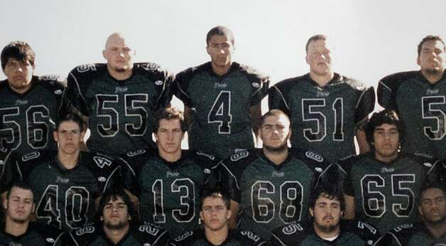 The 2004-2005 varsity football team with Colin Kaepernick, (4) on Wednesday May 4, 2011, at Pitman High School in Turlock, Ca. Quarterback, Kaepernick was the San Francisco 49ers second round pick in this year's NFL draft. Photo: Michael Macor, The Chronicle