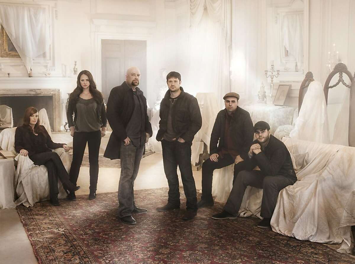 """Ninth Circuit said screenwriters who come up with an idea for a possible TV show, and have confidential talks with a studio, can sue under state law if the studio turns them down and later does a show based on the same concept (in this case, the SyFy show """"Ghost Hunters""""). Pictured is the cast of the SyFy show """"Ghost Hunters"""": (left to right) Amy Bruni, Kris Williams, Jason Hawes, Grant Wilson, Dave Tango, Steve Gonsalves -- Photo by: Sheryl Nields"""