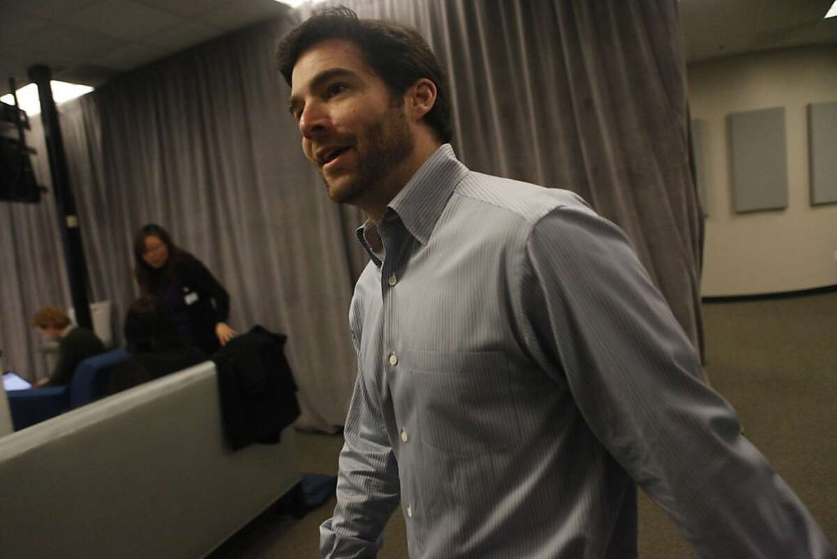 LinkedIn CEO Jeff Weiner is seen after a press conference at LinkedIn corporate headquarters on Thursday, March 10, 2011 in Mountain View, Calif. LinkedIn announced the launch of the beta of LinkedIn Today, a social news product.