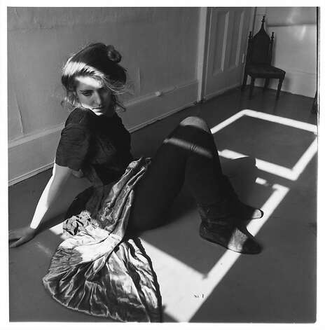 19.	Francesca Woodman, Untitled, New York, 1979–80; gelatin silver print; 4 13/16 x 4 13/16 in. (12.2 x 12.2 cm); courtesy George and Betty Woodman; © George and Betty Woodman Photo: Francesca Woodman