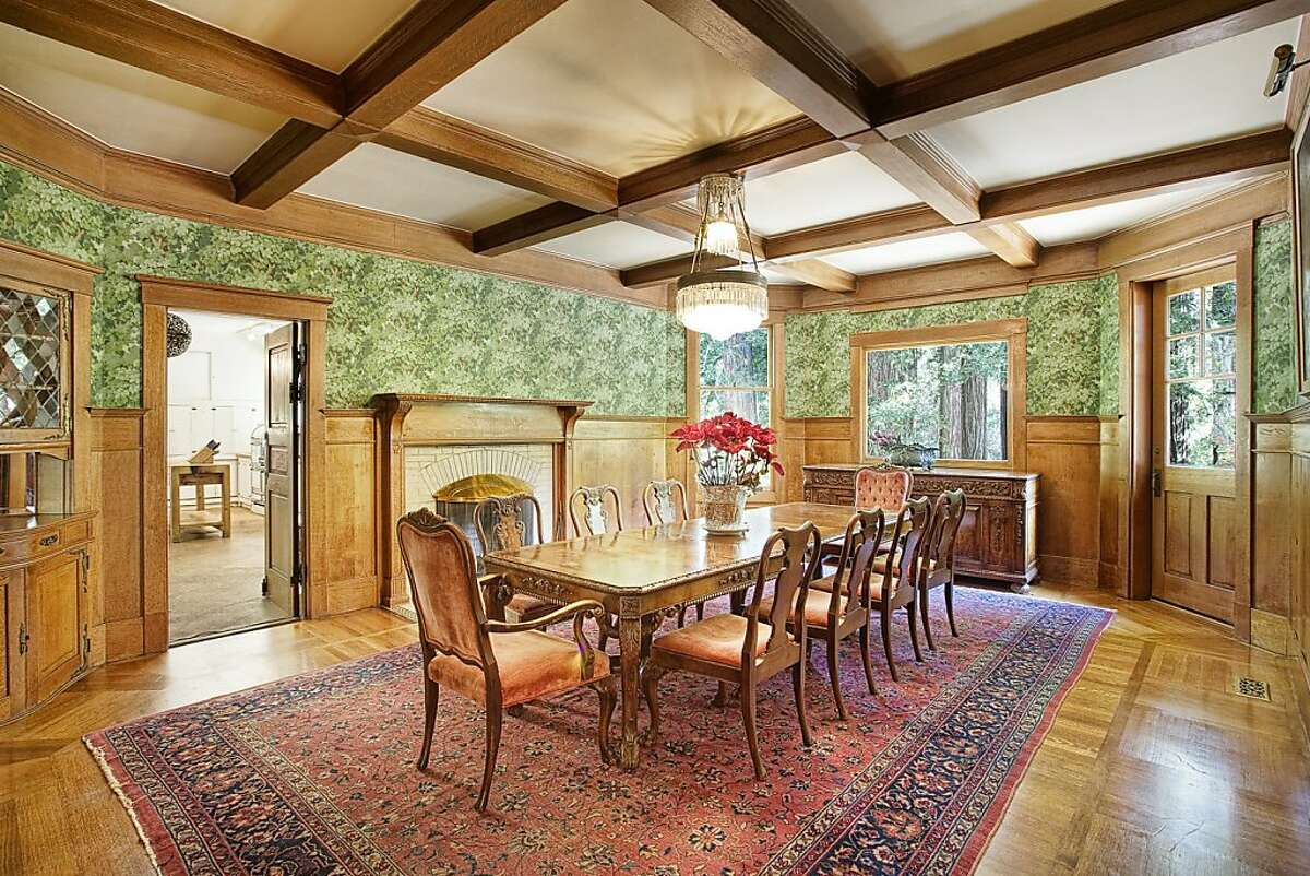 This is the dining room at 565 Throckmorton.