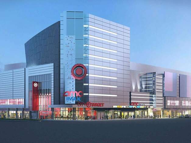 This artist's rendering shows how the Metreon will change. The center will be completely remodeled to accommodate Target on the second floor. Photo: SF Redevelopment Agency