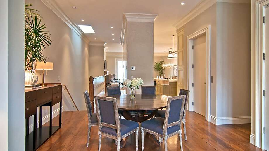 This is the dining room at 3362 Jackson. Photo: Sotheby's International Realty