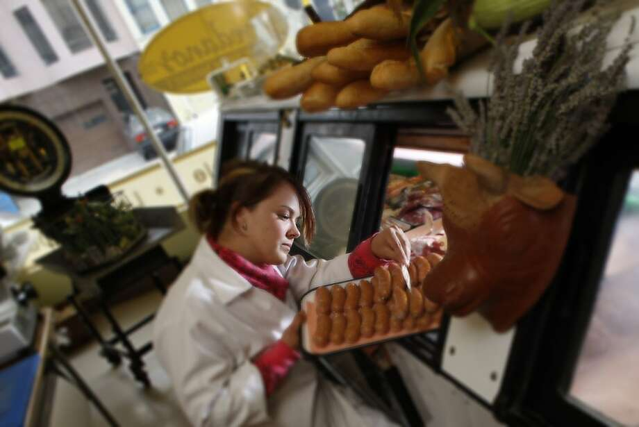 Avedano Market's Tia Harrison new project is  a new organization for artisan butchers.    Photo by Eric Luse/ The Chronicle 2008 Photo: Eric Luse, The Chronicle