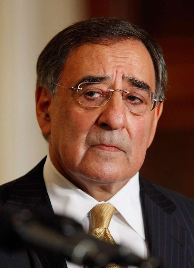 WASHINGTON, DC - APRIL 28:  CIA Director Leon Panetta delivers remarks after U.S. President Barack Obama announced that he will nominate Panetta to be the next secretary of defense in the East Room of the White House April 28, 2011 in Washington, DC. Obama has tapped Panetta to succeed Robert Gates at the department of defense, U.S. Army Gen. David Petraeus to be the next CIA director, Ambassador Ryan Crocker to be the next U.S. ambassador to Afghanistan, and U.S. Marine Corps Gen. John Allen to succeed Petraeus as commander of ISAF and U.S. forces in Afghanistan. Photo: Chip Somodevilla, Getty Images