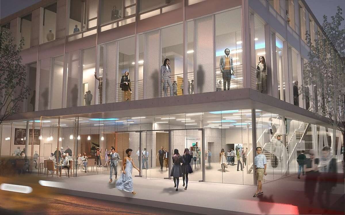 Architect's rendering for the new home of SFJazz. Ground was broken for the building on Friday (5/6)