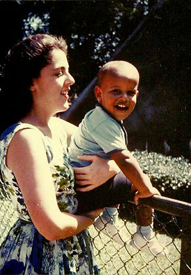 """**  ADVANCE FOR SUNDAY, NOV. 2 AND THEREAFTER - FILE ** This 1960's photo provided by the presidential campaign of Sen. Barack Obama, D-Ill., shows Obama with his mother Stanley Ann Dunham. The Kansas-born mother, the Kenyan-born father, Barack Obama Sr., met at the University of Hawaii. They married, and Barack, """"blessed"""" in Arabic, was born on Aug. 4, 1961.  (AP Photo/Obama Presidential Campaign) ** FOR EDITORIAL USE ONLY, NO SALES  ** Photo: Obama Presidential Campaign, Associated Press"""