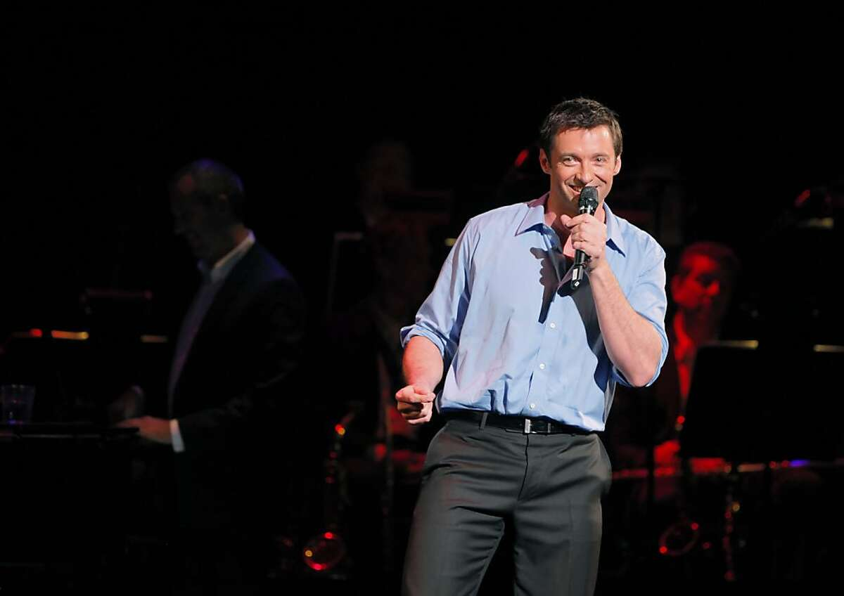 Dress rehearsal of Hugh Jackman in Performance at the Curran Theater in San Francisco, Calif., on Monday, May 2, 2011. f