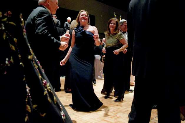 Cathy Malloy hits the dance floor during the Inaugural Ball honoring her husband, the 88th Governor of the State of Connecticut, Dannel P. Malloy at the Connecticut Convention Center in Hartford, Conn., Wednesday January 5, 2011. Photo: Keelin Daly, ST / Stamford Advocate
