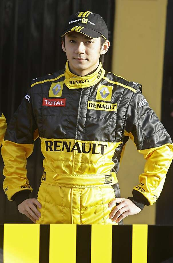 Renault Formula One test driver Ho-Pin Tung of China poses during the team's official launch at the Ricardo Tormo race track in Cheste, just outside Valencia, Spain Sunday Jan. 31, 2010. (AP Photo/Paul White) Photo: Paul White, ASSOCIATED PRESS