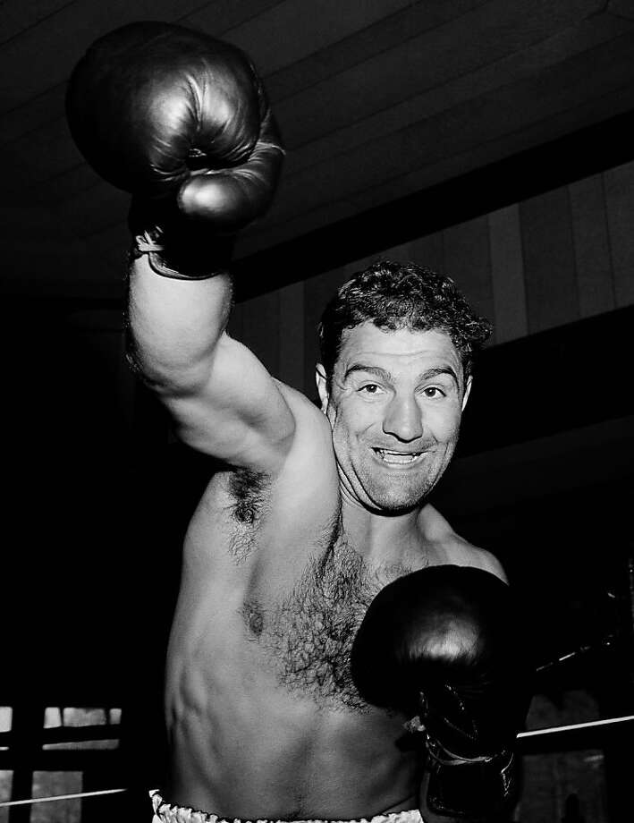 "Heavyweight boxing champ Rocky Marciano died in a small private plane crash in poor weather. The NTSB attributed pilot error as the cause of the crash, saying ""The pilot attempted an operation exceeding his experience and ability level, continued visual flight rules under adverse weather conditions and experienced spatial disorientation in the last moments of the flight."" Photo: Harry Harris, ASSOCIATED PRESS"