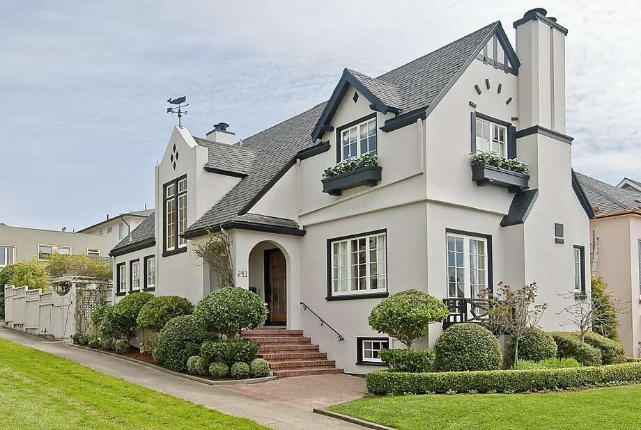 A Storybook-style home, 241 San Fernando Way in S.F. was built in 1922. At 2,640 square feet it has three bedrooms and two and a half bathrooms. It's listed for $1.59 million. Photo: OpenHomesPhotography.com