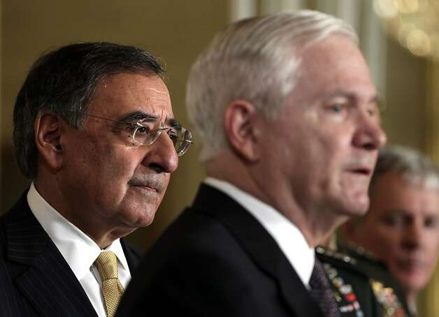 Leon Panetta is in line to be defense secretary after serving as head of the CIA. Photo: Carolyn Kaster, AP