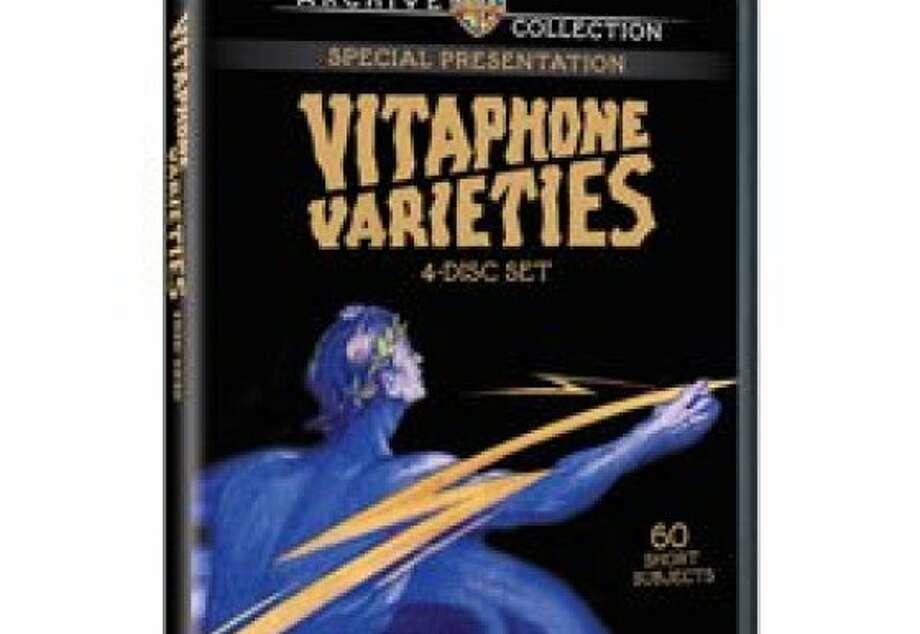 dvd cover VITAPHONE VARIETIES Photo: Warnerarchive.com
