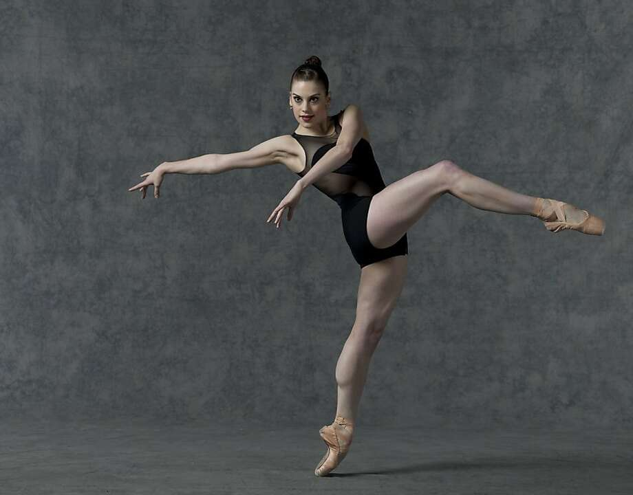 """Smuin Ballet dancer Susan Roemer in Amy Seiwert's world premier of """"Requiem,""""  part of the company's spring program. Photo: Lois Greenfield"""