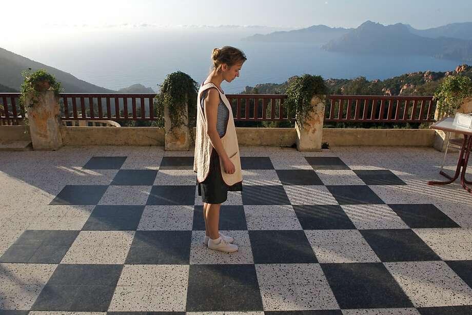 "Sandrine Bonnaire in   ""Queen to Play."" Photo: Patrick Glaize, Zeitgeist Films"