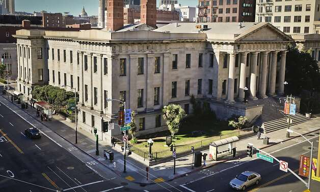 The San Francisco Old Mint building is seen in its present form on Wednesday, Feb. 2, 2011 in San Francisco, Calif. Photo: Russell Yip, The Chronicle