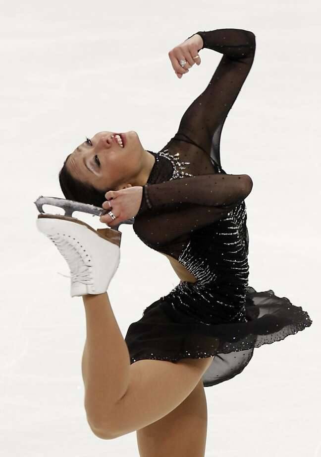 Japan's Miki Ando performs her free program at the ISU Figure Skating World championships in Moscow, Russia, Saturday, April 30, 2011. Photo: Misha Japaridze, AP