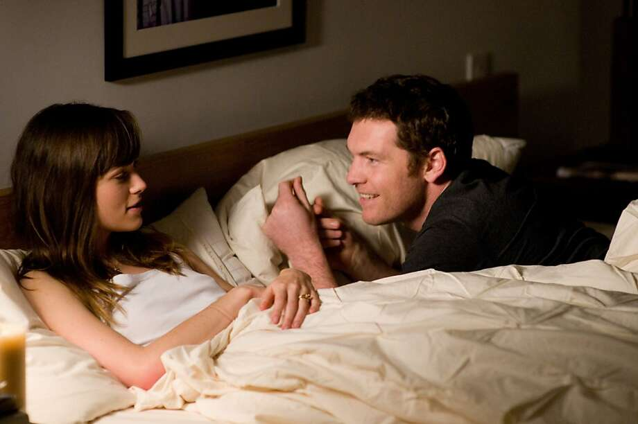 "Keira Knightley and Sam Worthington in, ""Last Night."" Photo: JoJo Whilden, Tribeca Films"