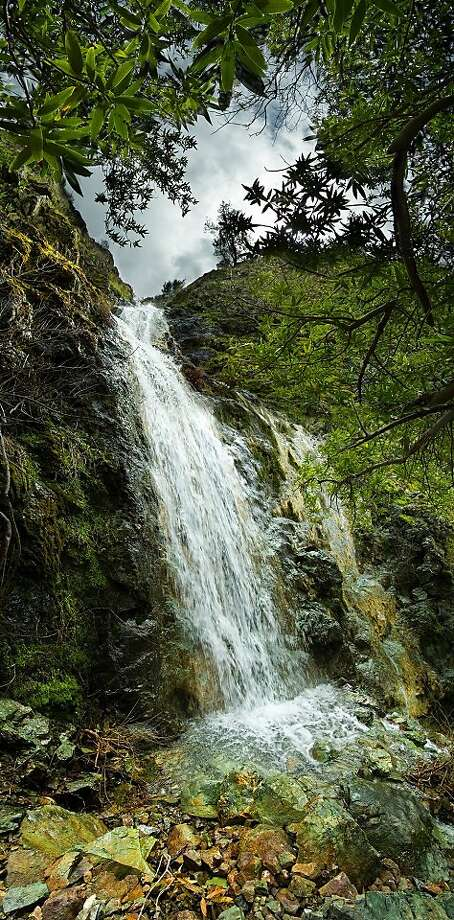 Wild Oat Canyon Falls is one of the views on display in the new book, 'Mount Diablo, The Extraordinary Life and Landscapes of a California Treasure,' with photos by Stephen Joseph and text by Linda Rimac Colberg Photo: Courtesy Stephen Joseph