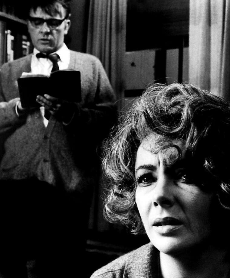 "Richard Burton and Elizabeth Taylor as warring spouses in ""Who's Afraid of Virginia Woolf?"" Photo: Warner Bros. 1966"