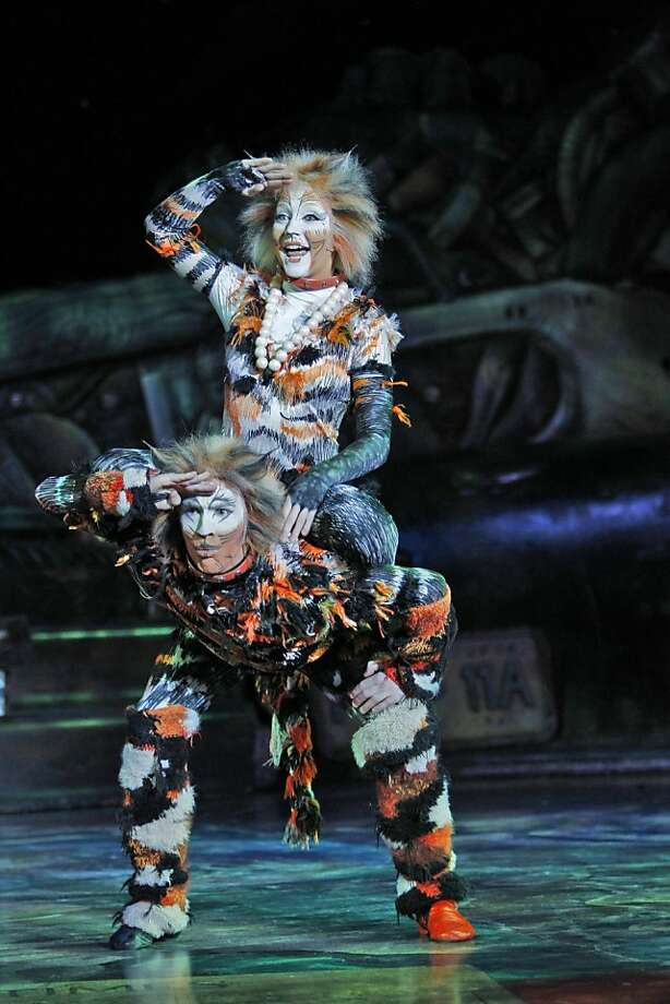 """""""Cats"""" returns May 5-15  to the Orpheum Theatre. Photo: Joan Marcus"""
