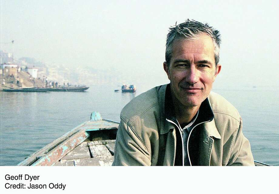 author Geoff Dyer, latest book: Jeff in Venice, death in Veranasi(sp?) handout photo by Jason Oddy Photo: Jason Oddy