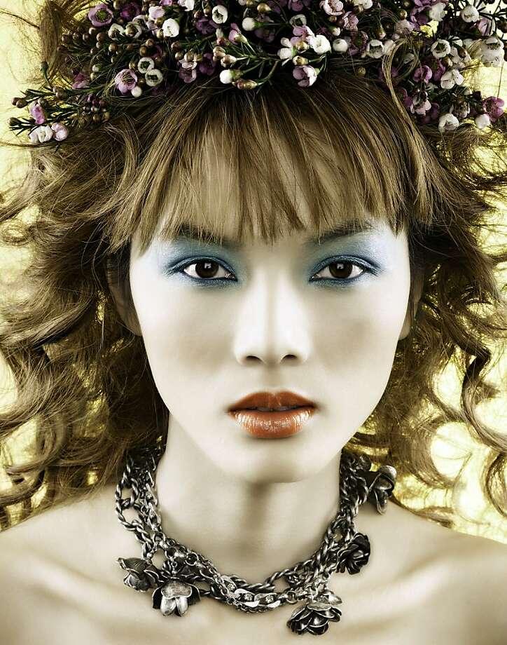 Photographer: Rico Schwartzberg Model: Bao/New York Models Makeup: Glenna Franklin/Marilyn Ballard Artist Representative Hair: Ezel Mustafa/ChiroSpa Studio: Shoot Digital, NY Photo: Rico Schwartzberg